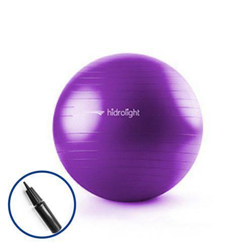 Bola de Ginástica 65cm Anti Burst - Hidrolight