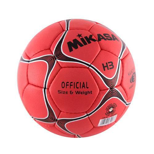 Bola de Handball H3 Mikasa Vermelha