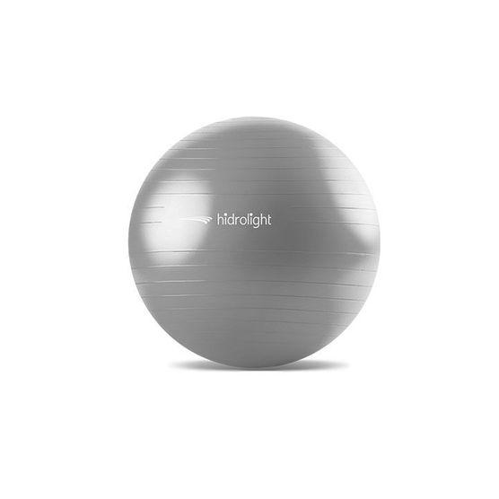 Bola de Pilates e Exercícios Cinza 75CM Hidrolight FL13C