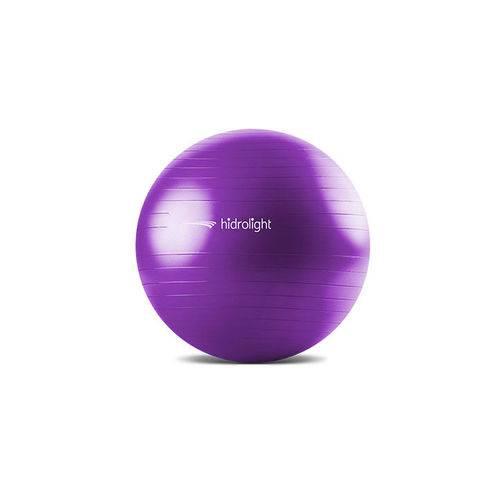 Bola de Pilates e Exercícos Roxa 65cm Hidrolight Fl13b