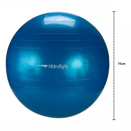 Bola de Pilates Ginástica Yoga Fisioterapia Hidrolight 75cm FL13C