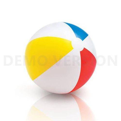 Bola de Praia Lisa Media Vermelho 51cm Intex 59020