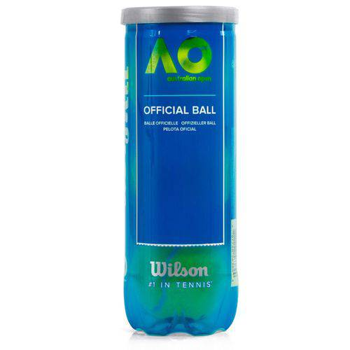 Bola de Tênis Wilson Australian Open - Tubo com 3 Bolas