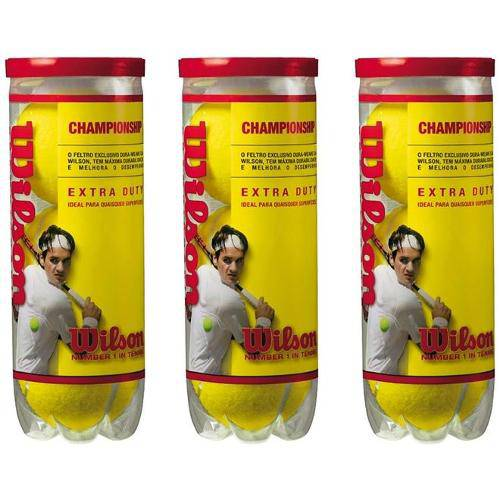 Bola de Tenis Wilson Championship - Pack 09 Bolas