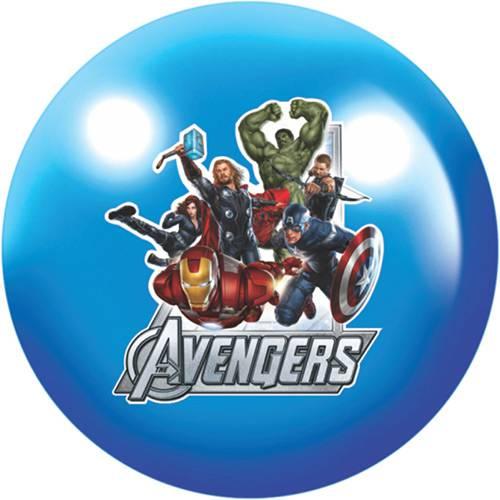 Bola de Vinil Avengers Plástico Azul - Lider