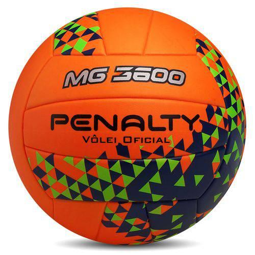Bola de Volei Oficial MG3600 - Penalty Laranja/Verde/Azul