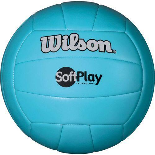 Bola de Volei Soft Play Azul Wilson Unidade