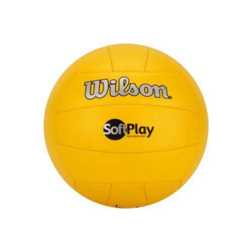 Bola de Vôlei Softplay Amarela Wilson - Wth3501am