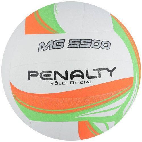 Bola de Voley Penalty MG 5500 VII Branco/Laranja/Verde