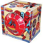 Bola em Vinil Spiderman (na Caixa) Preto - Lider