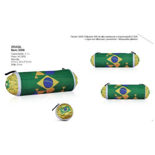 Bola Estojo Escolar - Brasil I