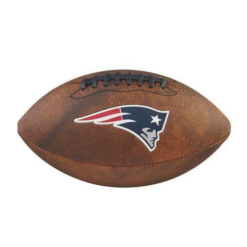 Bola Futebol Americano New England Patriots Throwback - Wilson