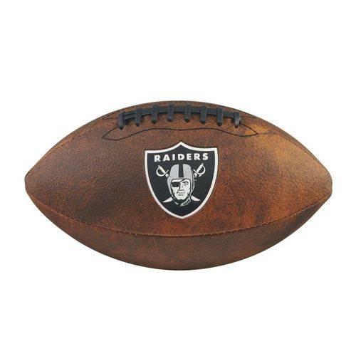 Bola Futebol Americano Oakland Raiders Throwback - Wilson