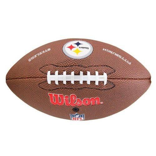 Bola Futebol Americano Pittsburgh Steelers - NFL Wilson
