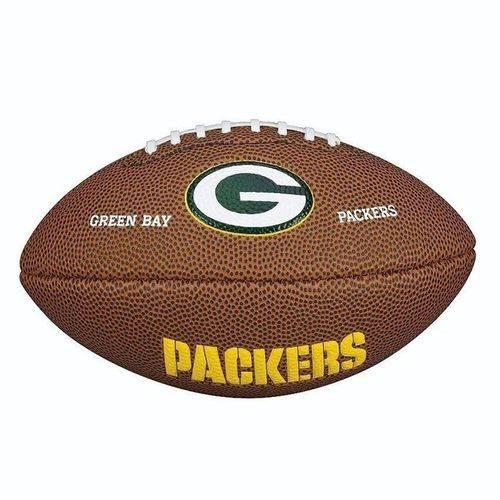 Bola Futebol Americano Wilson Green Bay Packers Jr