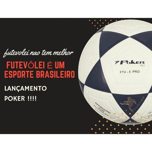 Bola Futevôlei Poker Rio Lançamento 2018
