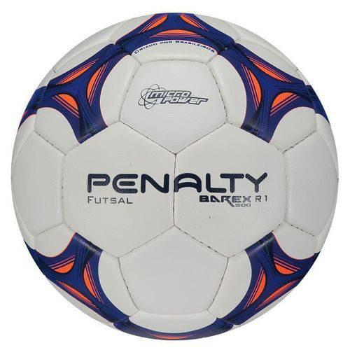 Bola Futsal Barex 500 R1 Viii - Branco/azul