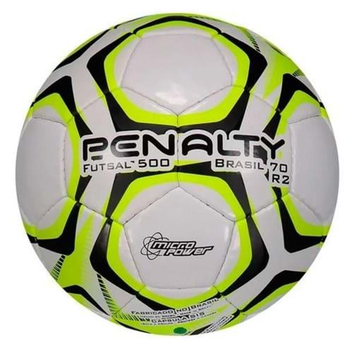 BOLA FUTSAL PENALTY BRASIL 70 500 R2 9 - Compre Agora | Radan Esportes