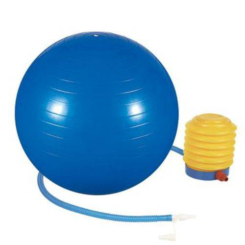 Bola Ginástica Pilates 65cm Azul Mor 40100003