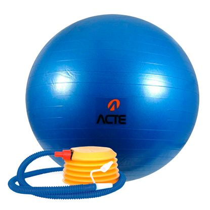 Bola Gym Ball ACTE 65 Cm Azul