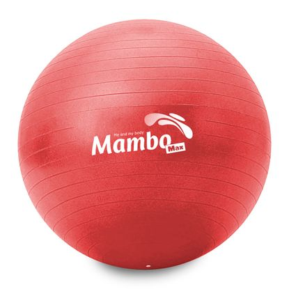 Bola Gym Ball MSD 55cm Vermelha