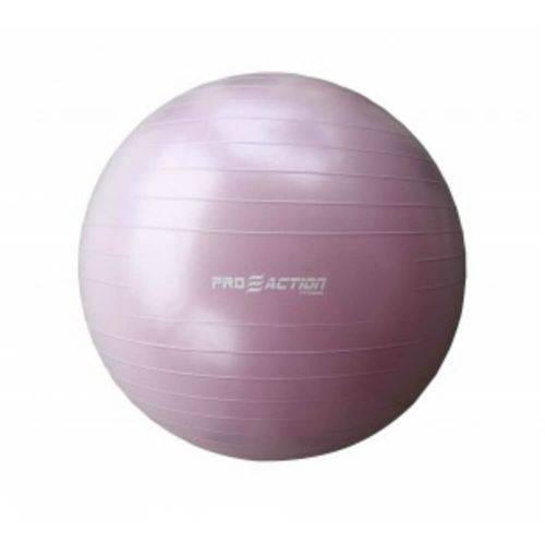 Bola Gym Proaction Antiestouro Pink 55cm