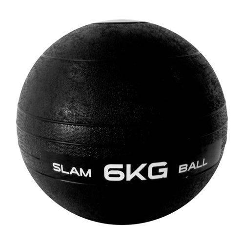 Bola Medicinal Slam Ball Liveup Sports Ls3004-6 6kg Preta