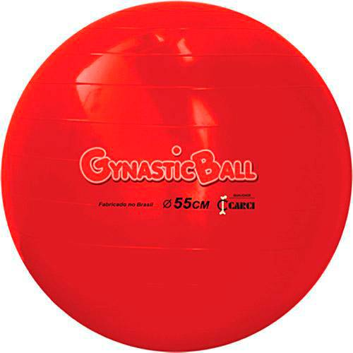 Bola para Pilates Gynastic Ball 55 Cm - Carci