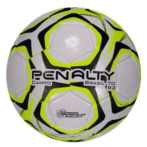 Bola Penalty Brasil 70 N4 R2 IX Campo Preta e Amarela