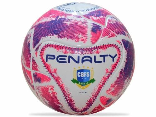 Bola Penalty Futsal Max 500 Term Rosa Azul