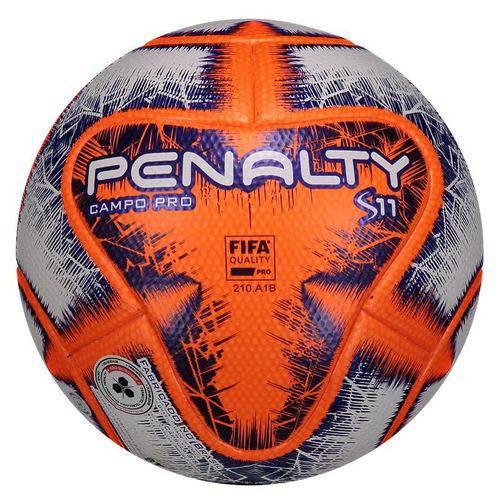 Bola Penalty S11 Pró IX Campo Laranja