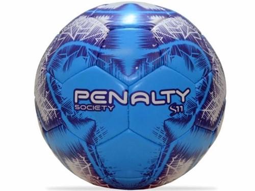 Bola Penalty Society S11 R4 IX Azul Branco