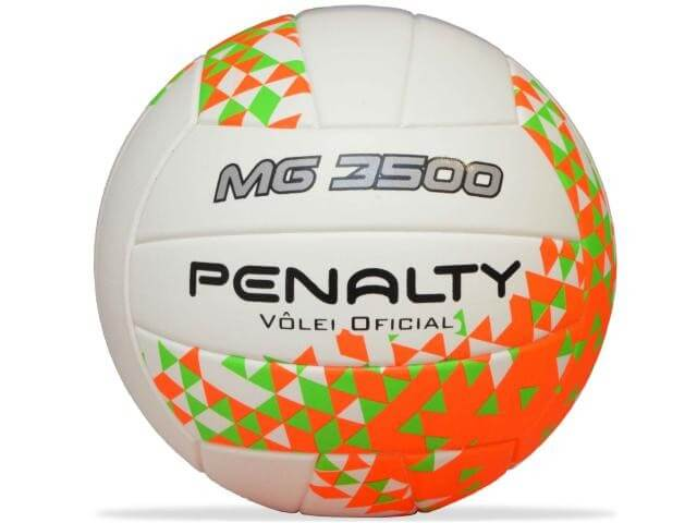 Bola Penalty Volei Mg 3500 VIII Branco
