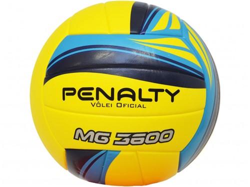 Bola Penalty Volei Ultra Fusion Amarelo Azul