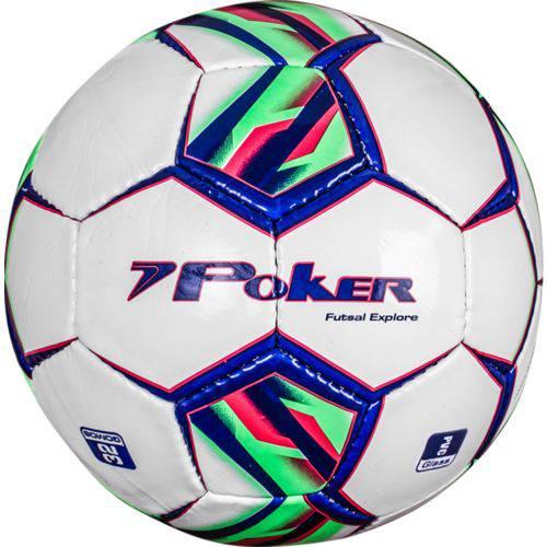 Bola Poker Futsal C/C Mão Explore 32 Gomos PVC Soft 05769