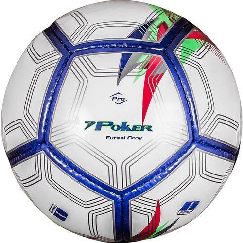 Bola Poker Futsal Croy Prime 12 Gomos PU+EVA 05777