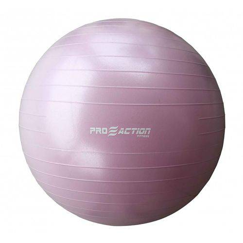 Bola Suica para Ginastica Proaction - 65cm - Rosa