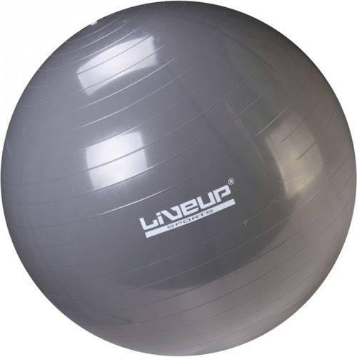 Bola Suíça para Pilates 85 Cm Cinza - Liveup Ls3221 85