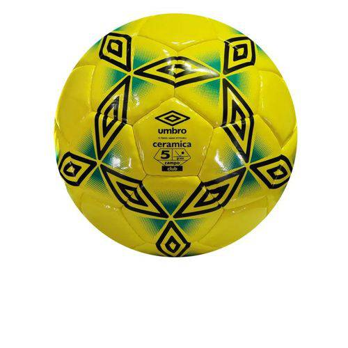Bola Umbro Futebol Cerâmica Amarela Nº5