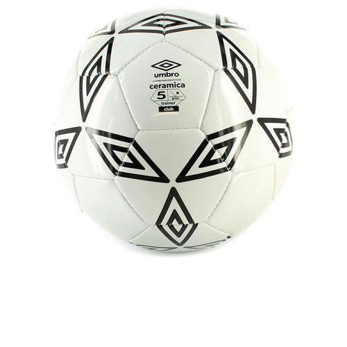 Bola Umbro Futebol Cerâmica Branca Nº5