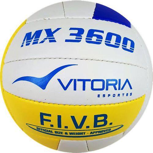 Bola Vôlei Oficial Vitoria MX 3600 PU Costurada