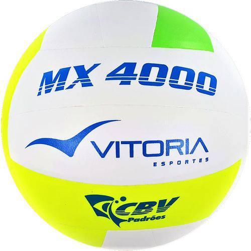 Bola Volei Oficial Vitoria Mx4000 Verde