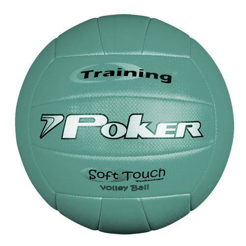 Bola Voley Training Neon Poker