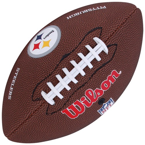 Bola Wilson Futebol Americano NFL Team Pittsburgh Steelers WTF1540XBPT