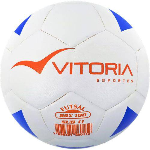 Bolas Futsal Vitoria Brx Max 100 Sub 11 (9 a 11 Anos) Mirim