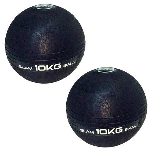 Bolas Medicine Slam Ball para Crossfit 10 Kg - Liveup