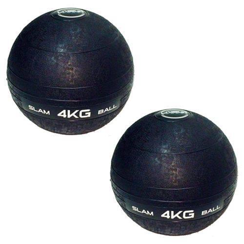 Bolas Medicine Slam Ball para Crossfit 4 Kg - Liveup