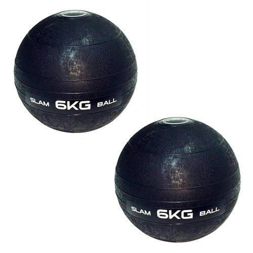 Bolas Medicine Slam Ball para Crossfit 6 Kg - Liveup