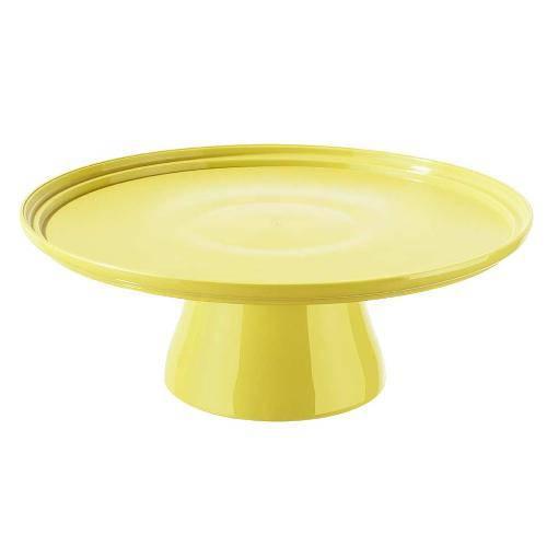 Boleira Cake 25cm Amarelo