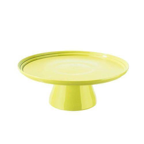 Boleira Cake 32 Cm 32,5 X 32,5 X 11,6 Cm Amarelo Coza